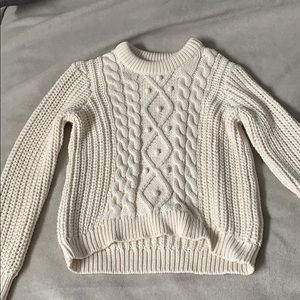 Tommy Hilfiger thick cable knit sweater